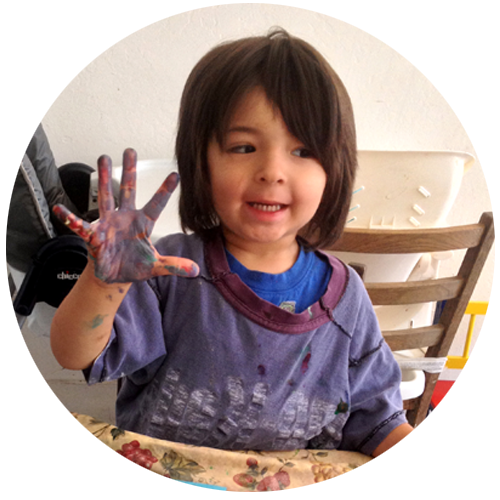 boy-purple-painted-hands